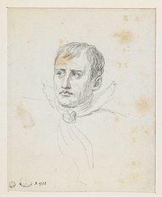 Jacques Louis David, Napoleone