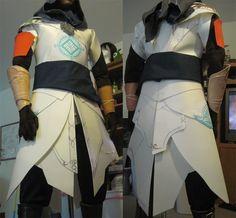 Assassin's Creed Ezio Hood Pattern   AC Revelations Ezio Tunic WIP by fevereon