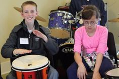 Intro to Hand Drumming Jansen Art Center Lynden, WA #Kids #Events