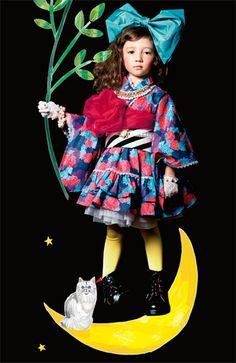 Fashion collection[ファッションコレクション]|今ドキ着物スタイルを楽しむ ロマンティック振り袖ドレス|フェリシモ