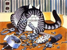 Bernard Kliban. Cat Dreams