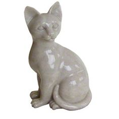 Elegant High Quality Faithful Feline Sitting Pet Memorial Urn >>> Check this awesome product by going to the link at the image. (This is an affiliate link) Memorial Urns, Cat Memorial, Garden Sculpture, Image Link, Faith, Memories, Pets, Elegant, Awesome