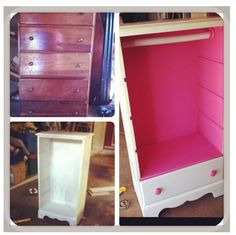 Little Girls Dress Up Dresser. Could so easily do this. On the hunt at garage sales :) (doesn't just have to be a little girls dress up!