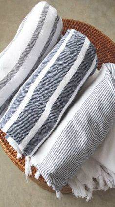 Turkish towels (peştamal) for hamam (spa)