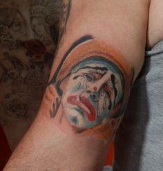 #Clown #Shadowplay #Tattoo