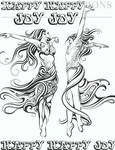 Adult Coloring Book Printable Coloring Pages, Coloring Pages, Coloring Book for Adults Instant Download Inspiration and Affirmation 1 page 8