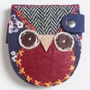 Patchwork Owl Mirror