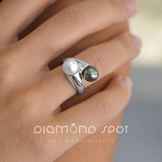 perly - Tahitské a sladkovodní perly - Zlatnictví Diamond Spot, Praha 1 Silver Rings, Jewelry, Diamond, Jewlery, Jewerly, Schmuck, Jewels, Jewelery, Fine Jewelry
