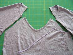 Tea Rose Home: Quatre shirts Quatre façons ~ ~ Lavande