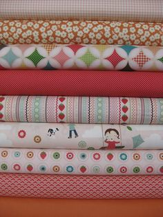 Riley Blake - October Afternoon, I still drool with their papers, this fabric is just to die for!