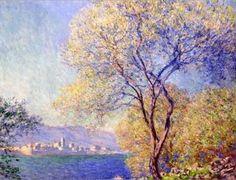 Claude Monet - Antibes vue du Jardin Salis (1888)