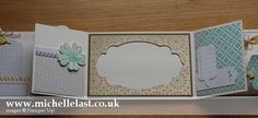 Mini Album using Stampin Up products by Michelle Last | Stampin' Up! Demonstrator Michelle Last