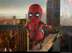 Little FatPool. Personal work by Ricardo Roduit. Character Design Animation, Portfolio, 3d, Superhero, Illustration, Fictional Characters, Animated Cartoon Characters, Illustrations, Fantasy Characters