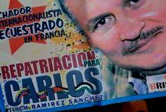 Llamado al Presidente Nicolás Maduro para que Venezuela reclame la extradicción del compatriota 'Comandante Carlos', quien lleva 23 años pres