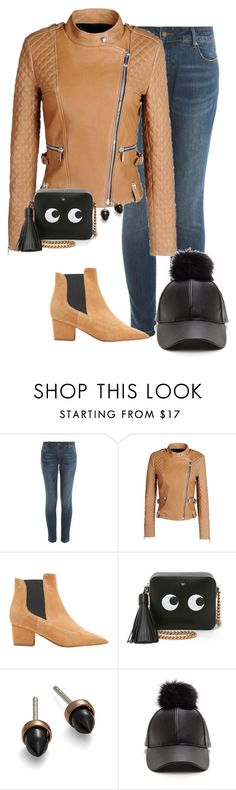 """S - Shopping"" by kaciwiens ❤ liked on Polyvore featuring Paul & Joe Sister, Barbara Bui, Tabitha Simmons, Anya Hindmarch and Bing Bang"