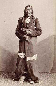 Cheyenne man, 1870s