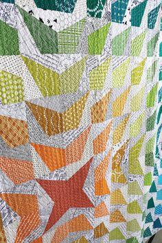 free quilt pattern modern star | Quilts | Pinterest | Patterns ... : modern quilts for sale - Adamdwight.com