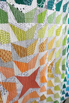 Freshly Pieced Modern Quilts #quilt #quilting #longarmquilting #machinequilting #tinlizzie18