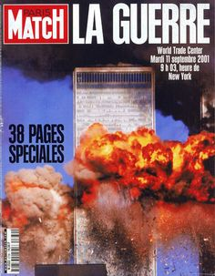 Paris Match - cover story - issue dealing with 9/11