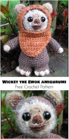Wicket the Ewok - Amigurumi - Free Crochet Pattern