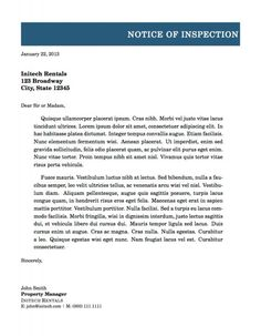 Formal Letter Format Writing A Professional Template
