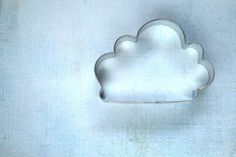 Cloud Cookie Cutter by SugarFoxShop on Etsy https://www.etsy.com/listing/175522117/cloud-cookie-cutter
