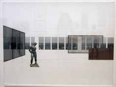 It is easy to tell that the collages are Mies' work at a glance; their understated restrained-yet-powerful composition draws the eye.