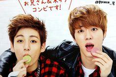 Jungkook and Jin my husband <3