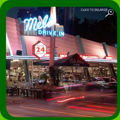 #TastfulTuesdays: We love #relaxing in our favorite booth at Mel's Drive-In in West Hollywood! Next time you're in town stop in and enjoy a bite! When you do, you'll be in good company ~ the former location of Ben Franks restaurant used to feed luminaries like the Rolling Stones and Andy Warhol. We'll have what they're having!