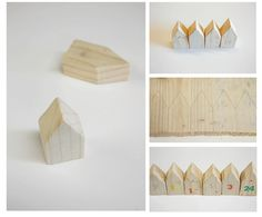 wooden houses - again, for tomten project?