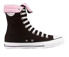Converse All Star Hi 1K367 Black/Pink Size 5.5 « Impulse Clothes