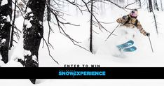 Enter for a chance to win the Ultimate Snow Experience. You and a friend will enjoy 4 days of riding, and a ton of new gear from Rossignol, The North Face, Outdoor Tech, Giro, and Dakine!