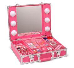 Beauty Star Station - a deal high heels Little Girl Makeup Kit, Makeup Kit For Kids, Little Girl Toys, Kids Makeup, Baby Girl Toys, Toys For Girls, Makeup Toys, Makeup Case, Disney Princess Toys