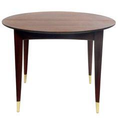 Elegant Gio Ponti Dining Table, Seats Four-Twelve People