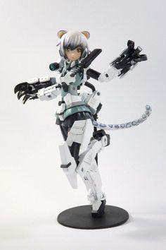 已嵌入 3d Figures, Action Figures, Frame Arms Girl, Cool Robots, Robot Girl, Action Toys, Robot Concept Art, Anime Toys, Anime Figurines