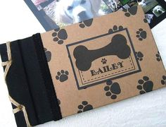 Personalized Pet #Photo Album #Dog Christmas Gift Puppy  by #Daisyblu @Dianesonnheim