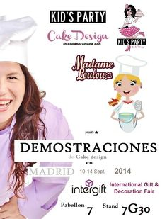 #cakedesign #demo #Madrid #intergift #ifema  @cakejournal