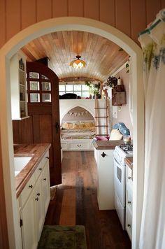 Von Thompsons School Bus Tiny Home 07