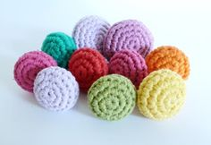 Franciens crocheted: Drawer knobs / drawer knobs