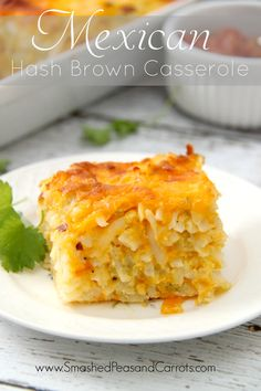 Use Simply Potatoes refrigerated hash browns to make an amazing Mexican Hash Brown Casserole with a spicy kick to it.