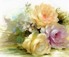 Floral Art (42 pieces) i appreciate gentle colors