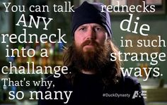 Jase Robertson on rednecks :)