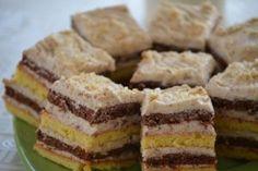 m.bucataras.ro Romanian Desserts, Romanian Food, Romanian Recipes, Sweets Recipes, My Recipes, Cooking Recipes, Hungarian Cake, Pastry Cake, No Bake Cake