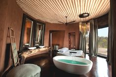 Luxury_African_Bush_Holidays_Adelto-  ~  The luxury retreat can accommodate a maximum of nine people (six adults, three children