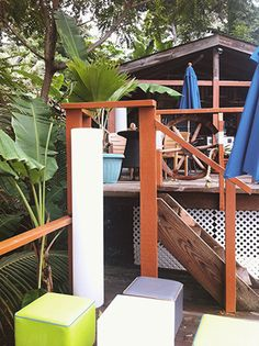 MY/CG - My Caribbean Gateway features one of the Trinidad & Tobago issue partners, the chic Bacolet Beach Club in Tobago Beach Club, Outdoor Furniture, Outdoor Decor, Trinidad And Tobago, Sun Lounger, Caribbean, Places To Visit, Home Decor, Chaise Longue