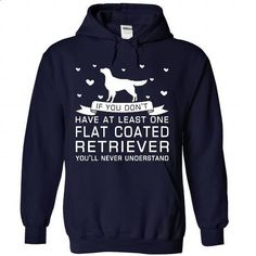 Flat Coated Retriever - hoodie outfit #tee #clothing