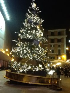 Roma, Albero di Natale Louis Vuitton