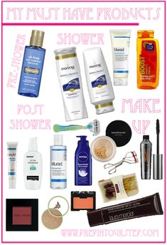 My Must Have Products