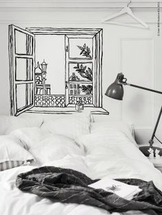Bedroom lighting - A desk lamp, like ARÖD, is a great option for bedtime readers and web surfers.