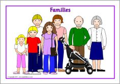 of FREE teaching resources for Early Years and Primary School teachers. Family Theme, Love My Family, Home And Family, Family Guy, Teaching Spanish, Teaching Resources, Family Poster, Classroom Projects, Grandma And Grandpa